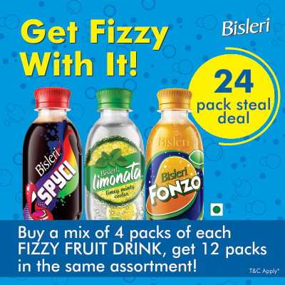 Fonzo-Bisleri-juice-pack-combo-offer